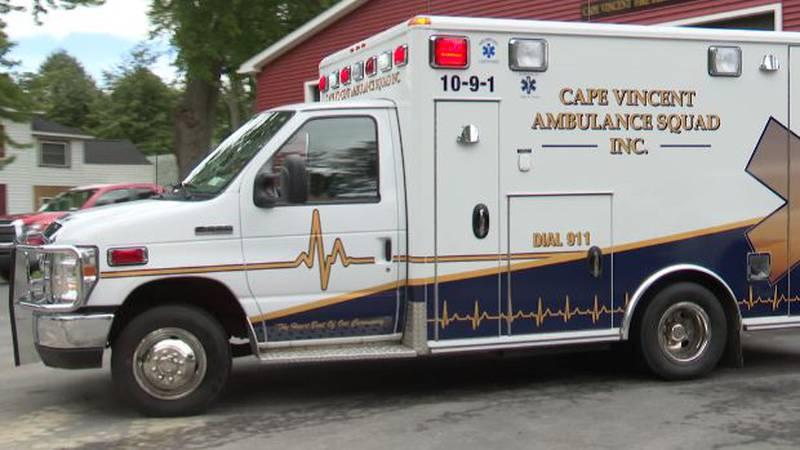 Cape Vincent ambulance