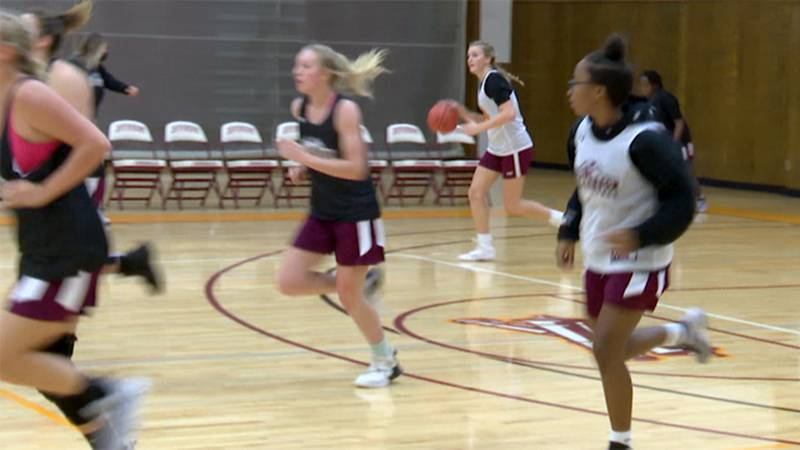 The Jefferson Community College women's basketball team has been on the court preparing for...