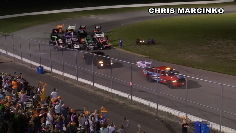 It was a big night of racing Saturday night at the Evans Mills Raceway Park in remembrance of a...