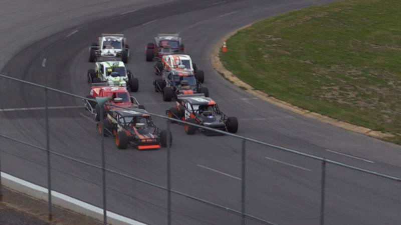 The show goes on every Saturday night at Evans Mills Raceway Park.